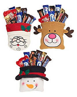 Set of 3 Christmas Goody Bags