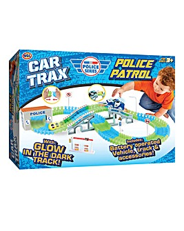 Create a Road Police Car Track Set