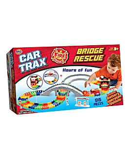 Create a Road Fire Rescue Track Set
