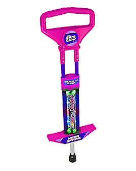 Go Light Up Go Pogo Stick Pink & Purple