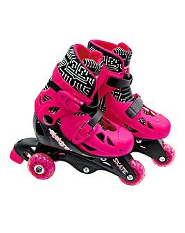 Elektra Tri Line Boots - Pink