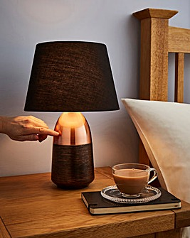 Copper Touch Lamp