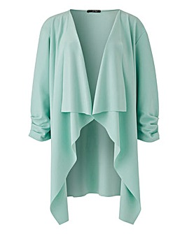 Quiz Mint Green Waterfall Jacket