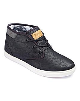 Jacamo Plain Mid Boots Extra Wide Fit