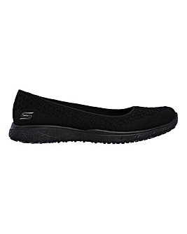 Skechers Microburst Trainers Wide Fit