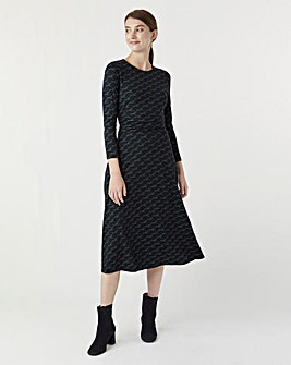 Hobbs Bayview Midi Dress