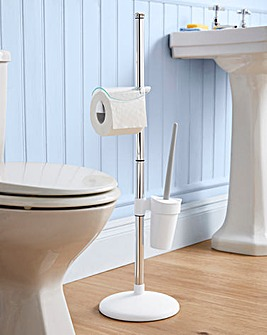 No Rust Lightweight Toilet Caddy