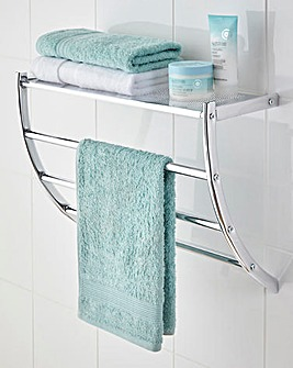 Wall Mounted Towel Shelf with Store