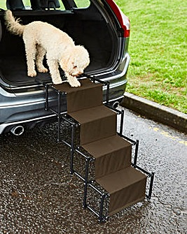 Accordion Pet Steps