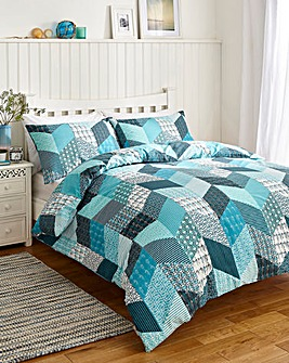 Coastal Patch Duvet Set