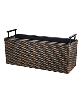 Window Rattan Planter