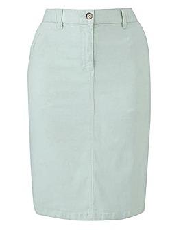 Petite Comfort Stretch Chino Skirt