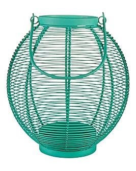 Wire Garden Lantern Small