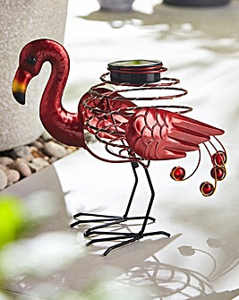 Smart Garden Flamingo Solar Spiralight