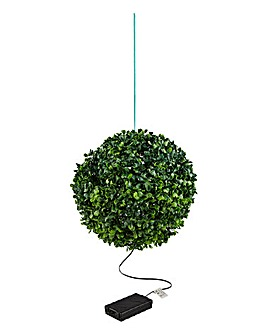 Hanging Topiary Solar Ball