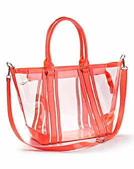 Perspex Shoulder Bag