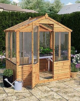 Mercia 4x6 Traditional Greenhouse