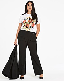 Bootcut Tailored Trouser Long
