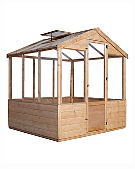 Mercia 8x6 Traditional Greenhouse