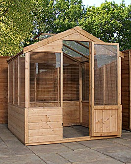 Mercia 8x6 Traditional Greenhouse