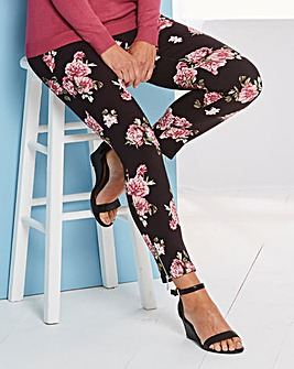 Belted Zip Ankle Trousers Reg