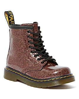 Dr Martens Glitter Lace up Infants boot