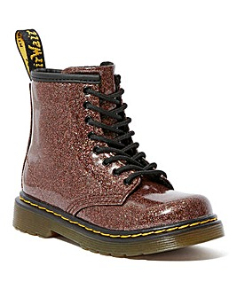 Dr Martens Glitter Lace up Junior boot