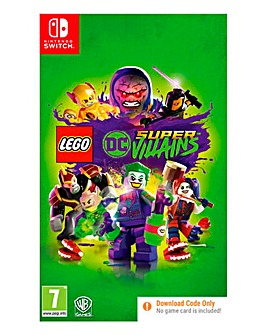 LEGO DC Super Villains - Nintendo Switch (Code In A Box)