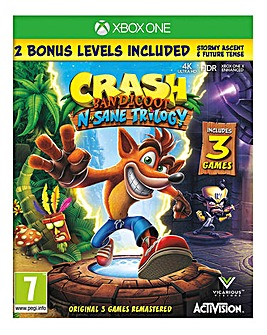 Crash Bandicoot N'Sane Trilogy - Xbox One