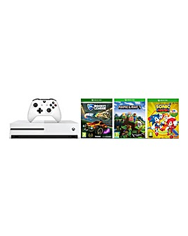 Xbox One S 1TB Console + 3 Games
