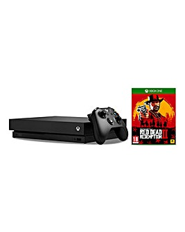 Xbox One X + Red Dead Redemption
