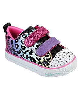 Twinkle Toes Lite Leopard Sneaker