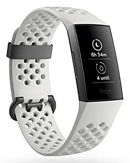 Fitbit Charge 3 SE Graphite/White Silicone