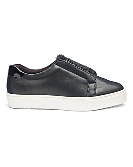 Marlow Faux Fur Trainers Extra Wide EEE Fit