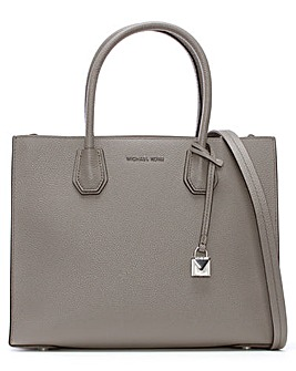 Michael Kors Pebbled Leather Satchel Bag