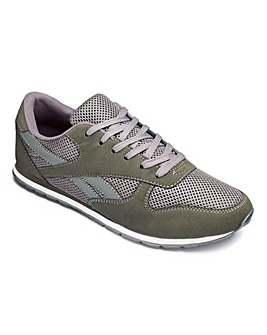 Cushion Walk Lace Trainers Wide