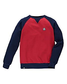 Admiral Style Crew Neck Sweatshirt