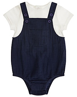 Monsoon Nb Baby Forest Romper