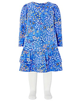 Monsoon Baby Lois Jersey Dress And Tight