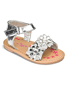 TKD Girls Flower Sandals