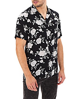 Religion Blitz Rever Floral Shirt