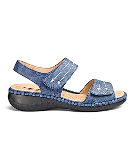 Cushion Walk Touch and Close Sandals Ultra Wide EEEEE Fit