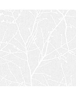 Superfresco Easy Innocence Branch Grey Metallic Wallpaper