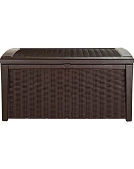 Keter Borneo Rattan Effect Storage Box