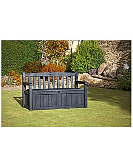 Keter Madison Wood Effect Storage Bench