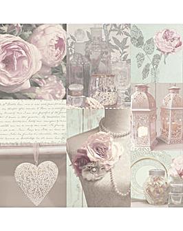 Arthouse Charlotte Blush Wallpaper