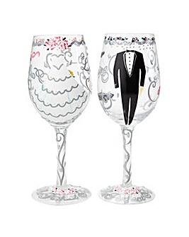 Lolita Happy Ever After Wine Glass Set