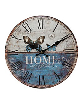 the latest d9a7a 6d49f Hometime Home Wall Clock 30cm