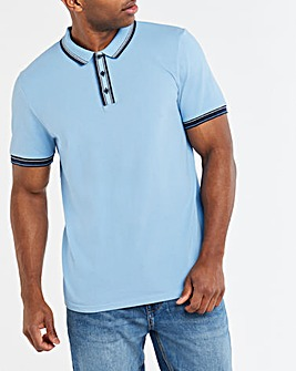 Tipped Polo Long