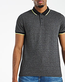 Neon Tipped Grindle Polo L